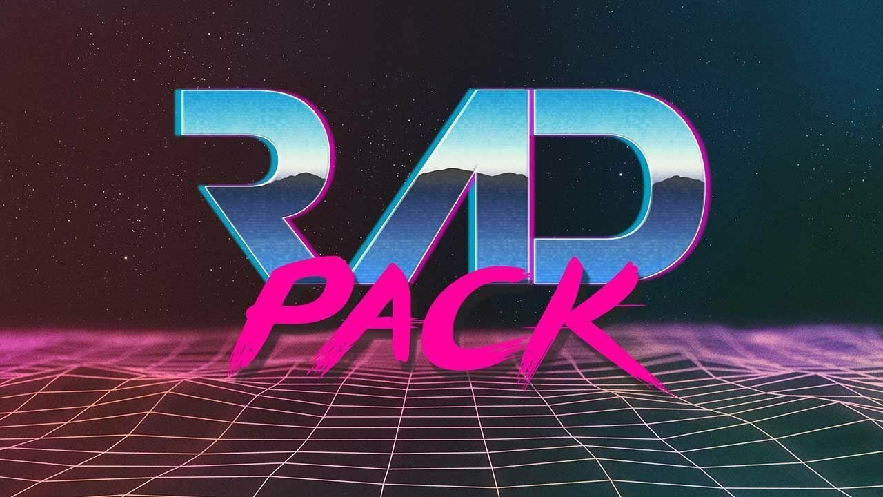 Rad Pack 80's-Themed HD Wallpapers