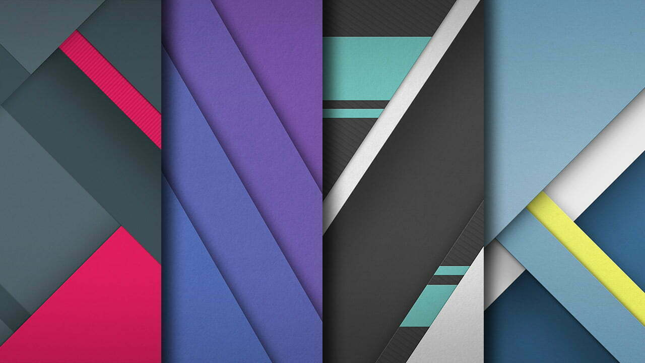 4K Material Design Wallpapers