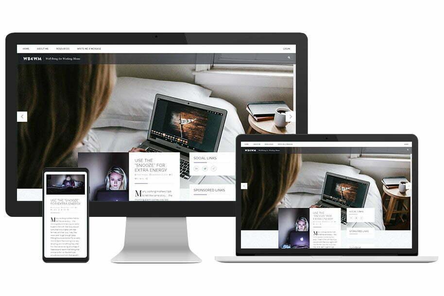 WB4WM Website Design - Devices