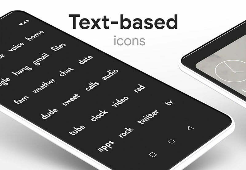 Flight Pro Icon Pack text-based