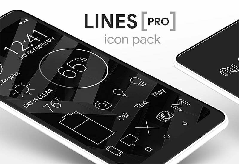 Lines Pro Icon Pack