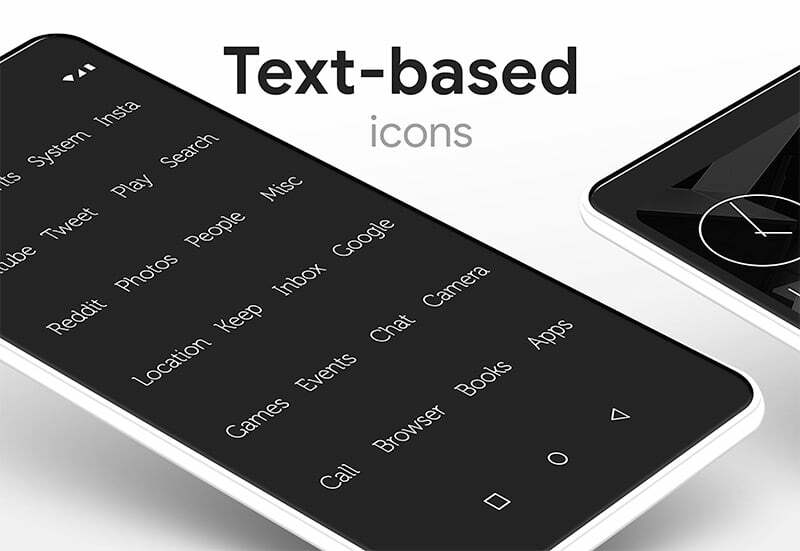 Lines Pro Icon Pack text