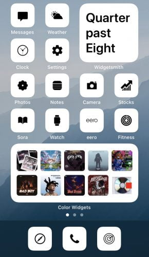 Flight - iOS 14 Minimalist Icons for iPhone photo review