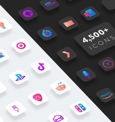 chroma ios icons light and dark