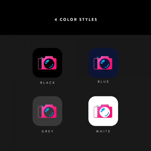 chroma ios icons color styles