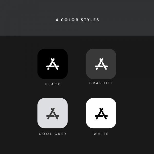 flight icon color styles