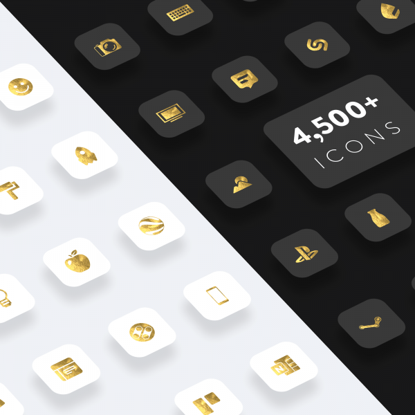 gold leaf icon preview