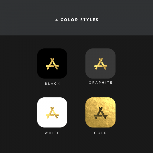 gold leaf color styles