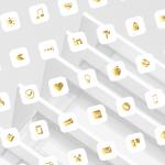 gold leaf ios icons