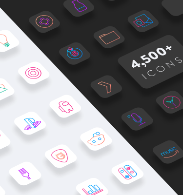 lines chroma ios icons dark and light