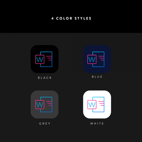 lines chroma icon color styles