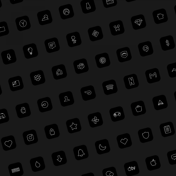 Lines iOS Icons